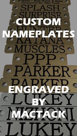 Custom Made Nameplates